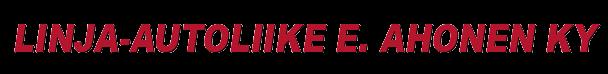 LINJA-AUTOLIIKE E.AHONEN KY